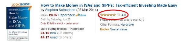 Amazon 5 stars