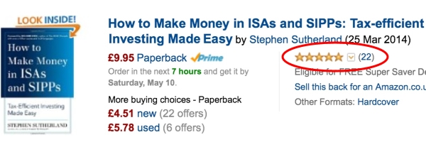 23 reviews for How to Make Money in ISAs and SIPPS